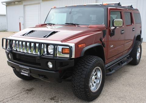 2004 HUMMER H2 for sale at 608 Motorsports - Sold Inventory in Sun Prairie WI