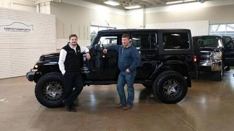 2014 Jeep Wrangler Unlimited for sale at 608 Motorsports - Sold Inventory in Sun Prairie WI