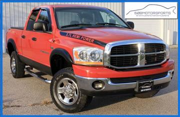2006 Dodge Ram Pickup 2500 for sale at 608 Motorsports - Sold Inventory in Sun Prairie WI