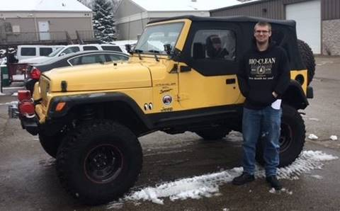 2000 Jeep Wrangler for sale at 608 Motorsports - Sold Inventory in Sun Prairie WI