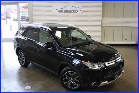 2015 Mitsubishi Outlander for sale at 608 Motorsports - Sold Inventory in Sun Prairie WI