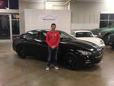 2014 Infiniti Q50 for sale at 608 Motorsports - Sold Inventory in Sun Prairie WI