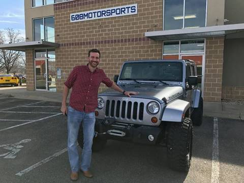 2013 Jeep Wrangler Unlimited for sale at 608 Motorsports - Sold Inventory in Sun Prairie WI