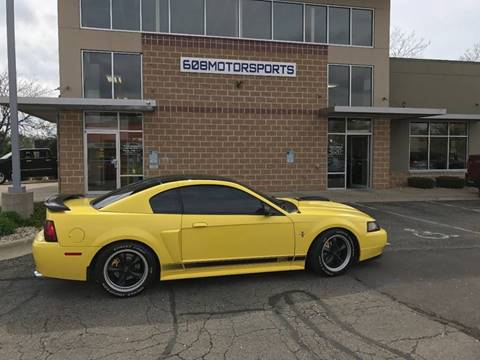 2003 Ford Mustang for sale at 608 Motorsports - Sold Inventory in Sun Prairie WI