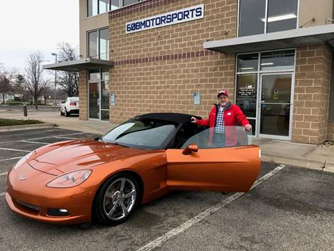 2009 Chevrolet Corvette for sale at 608 Motorsports - Sold Inventory in Sun Prairie WI