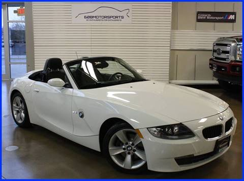 2007 BMW Z4 for sale at 608 Motorsports - Sold Inventory in Sun Prairie WI