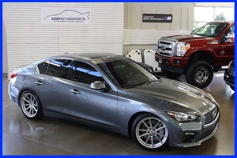 2015 Infiniti Q50 for sale at 608 Motorsports in Madison WI