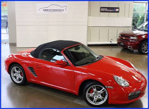 2005 Porsche Boxster for sale at 608 Motorsports in Madison WI