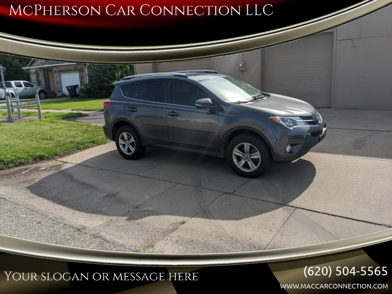 2015 Toyota RAV4 for sale at McPherson Car Connection LLC in Mcpherson KS