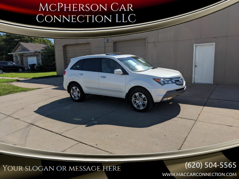 2009 Acura MDX for sale at McPherson Car Connection LLC in Mcpherson KS
