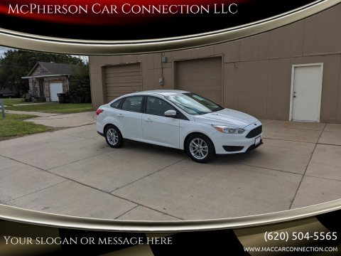 2016 Ford Focus for sale at McPherson Car Connection LLC in Mcpherson KS