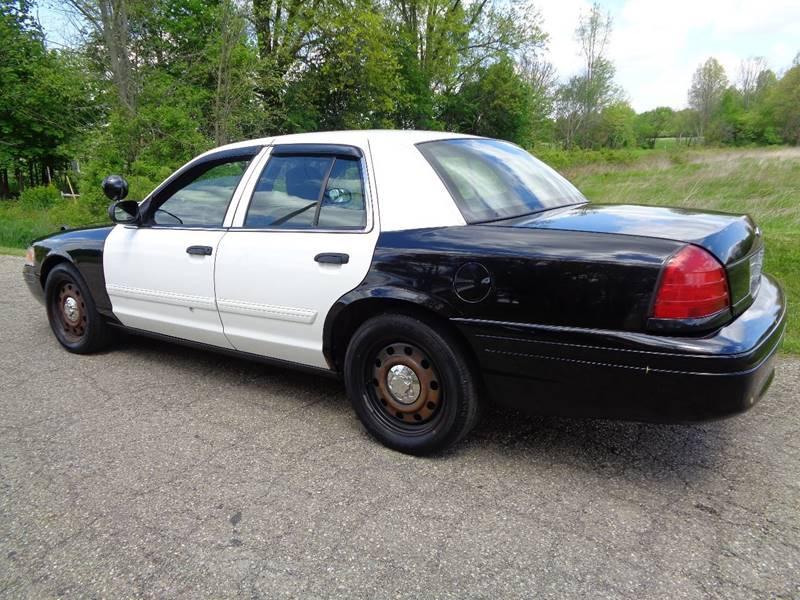2009 Ford Crown Victoria Police Interceptor 4dr Sedan (3.27 Axle) - North Benton OH