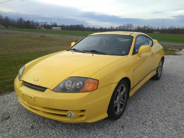 2004 Hyundai Tiburon GT V6 Special Edition 2dr Coupe   Alliance OH