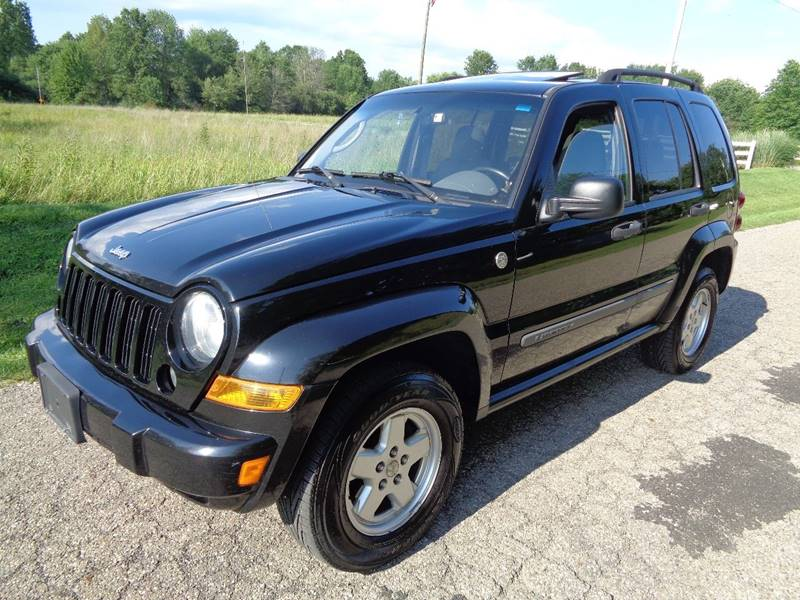 2007 Jeep Liberty Sport 4dr SUV 4WD - North Benton OH