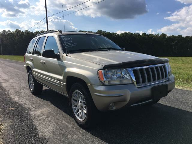 2004 Jeep Grand Cherokee Limited 4WD 4dr SUV - North Benton OH