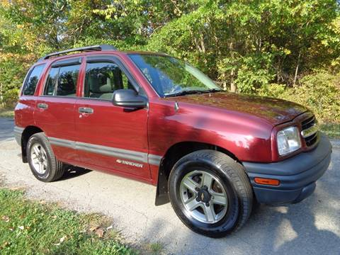 2002 Chevrolet Tracker for sale in North Benton, OH