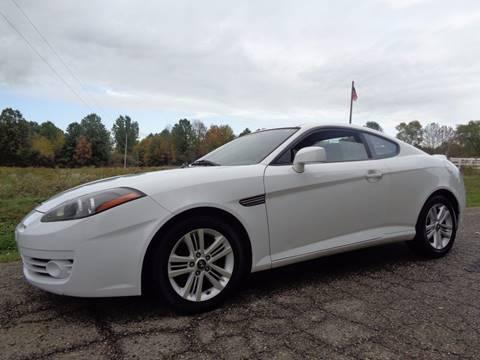 2008 Hyundai Tiburon for sale in North Benton, OH