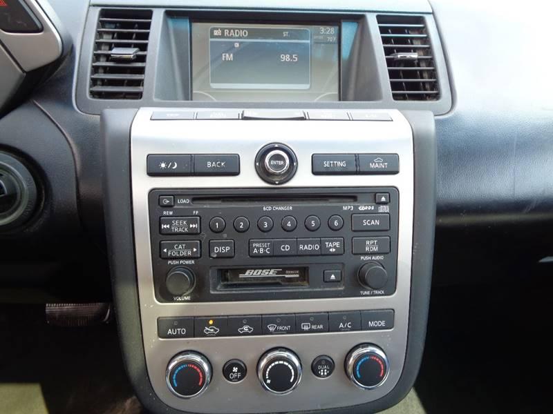 2007 Nissan Murano AWD SL 4dr SUV - North Benton OH