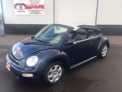 2003 Volkswagen New Beetle for sale in Ponca, NE