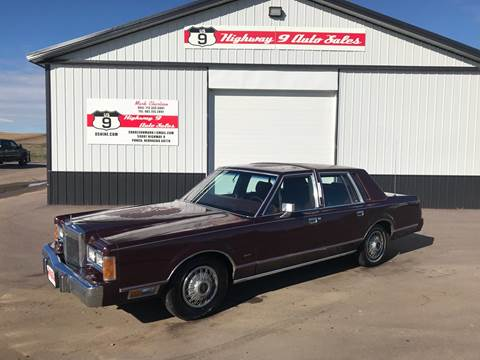 1989 Lincoln Town Car For Sale In Enid Ok Carsforsale Com