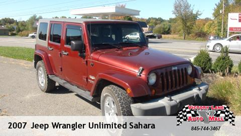 2007 Jeep Wrangler Unlimited for sale in Pine Bush NY