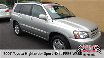 2007 Toyota Highlander for sale in Pine Bush, NY
