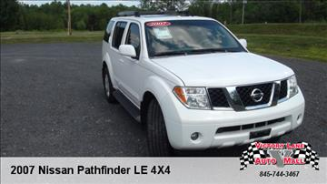 2007 Nissan Pathfinder for sale in Pine Bush, NY