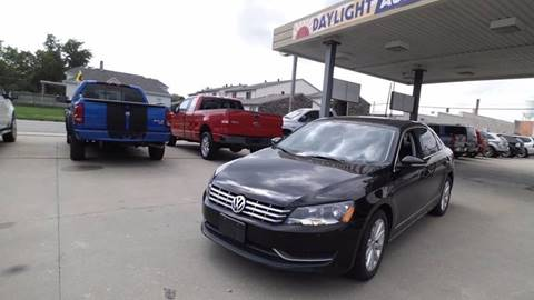 2012 Volkswagen Passat for sale in Chariton, IA