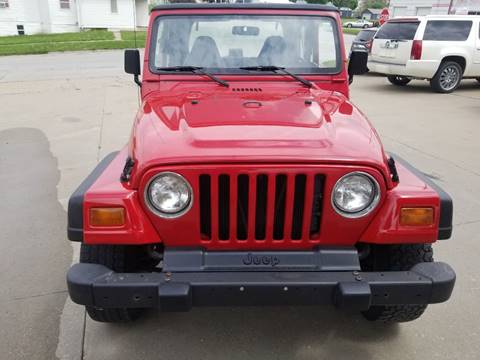 1998 Jeep Wrangler for sale in Chariton, IA