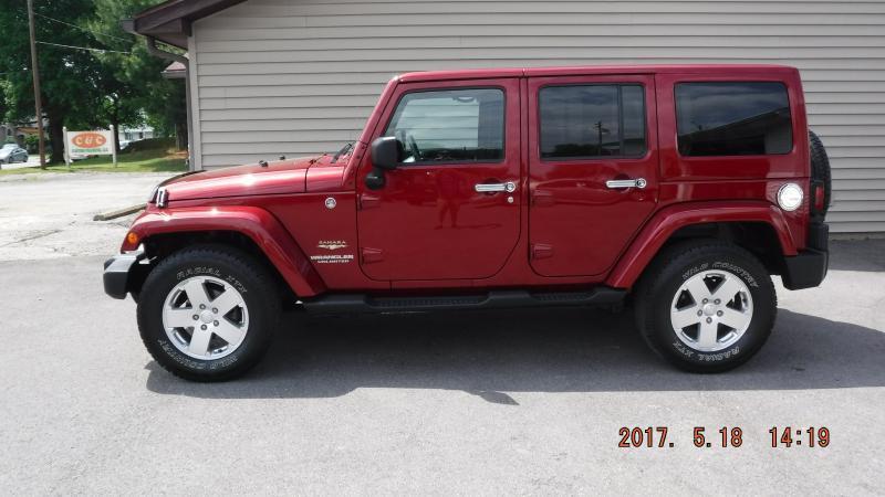 2012 Jeep Wrangler Unlimited 4x4 Sahara 4dr SUV - Henderson KY