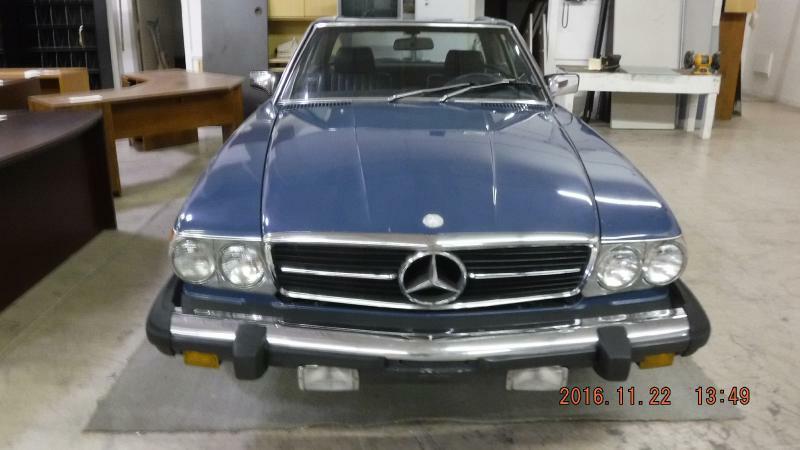 1982 Mercedes-Benz 380-Class 380SL 2dr Convertible - Henderson KY