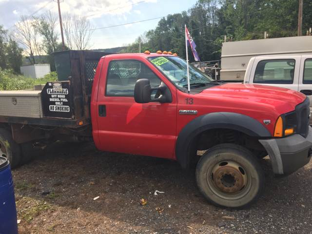 2005 Ford F-450 Super Duty XL/FLATBED UTILITY - Lavelle PA