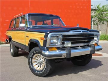 1987 Jeep Grand Wagoneer for sale in Tempe, AZ
