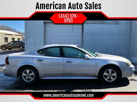 2005 Pontiac Grand Prix for sale in Adell, WI