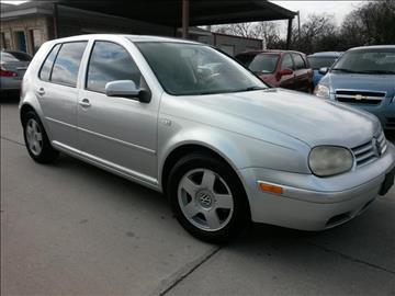 2002 Volkswagen Golf for sale in Grand Prairie, TX