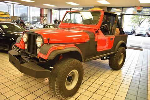 1985 Jeep CJ-7 for sale in Tampa, FL