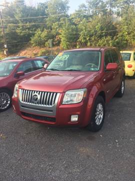2008 Mercury Mariner for sale in Old Forge, PA