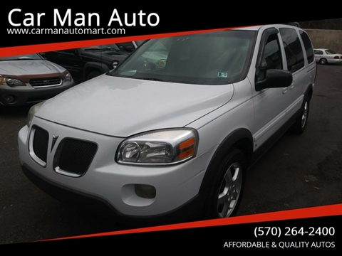 2006 Pontiac Montana SV6 for sale in Old Forge, PA