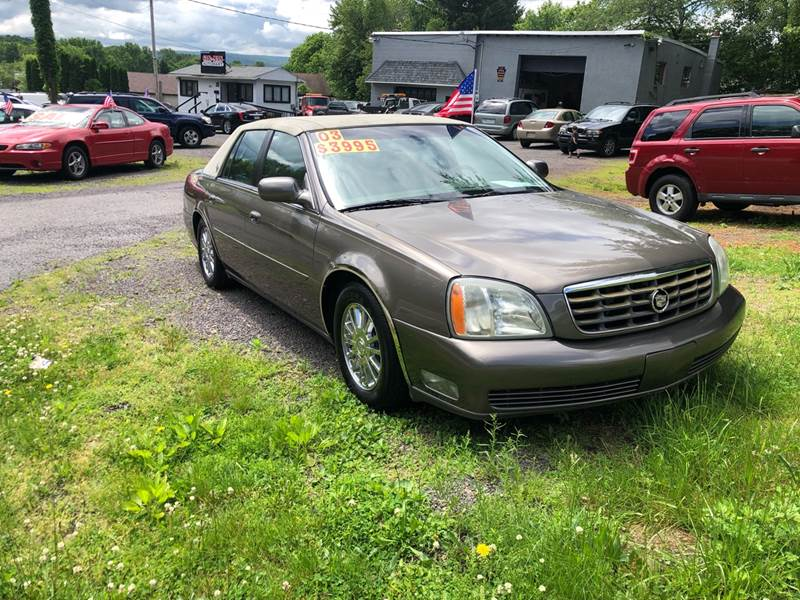 2003 Cadillac DeVille for sale at Car Man Auto in Old Forge PA