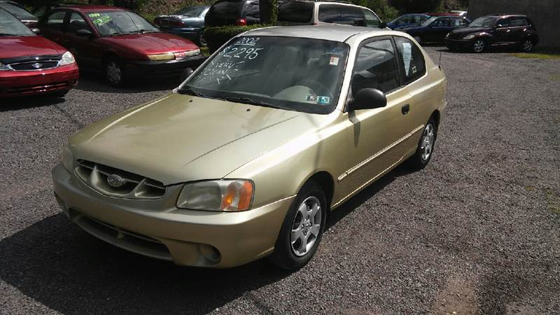 2002 Hyundai Accent GS 2dr Hatchback - Old Forge PA