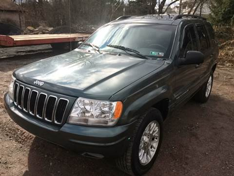 2002 Jeep Grand Cherokee for sale in Old Forge, PA