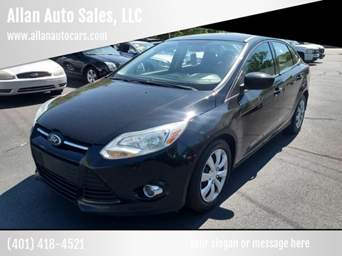 Fall River Ford >> 2012 Ford Focus For Sale In Fall River Ma