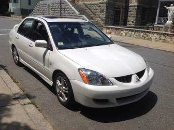 2005 Mitsubishi Lancer for sale at Allan Auto Sales, LLC in Fall River MA