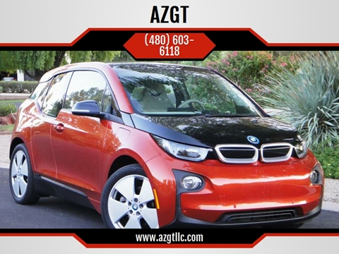 2015 BMW i3 for sale at AZGT LLC in Phoenix AZ
