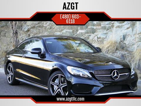 2017 Mercedes-Benz C-Class for sale at AZGT LLC in Phoenix AZ