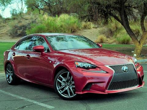 2015 Lexus IS 250 for sale at AZGT LLC in Phoenix AZ