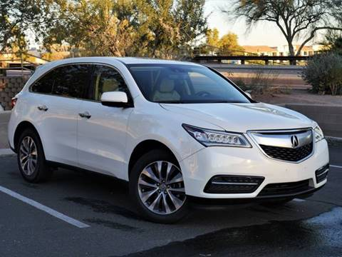 2015 Acura MDX for sale at AZGT LLC in Phoenix AZ