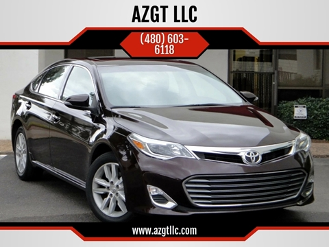 2015 Toyota Avalon for sale at AZGT LLC in Phoenix AZ