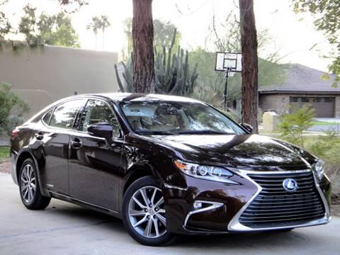2016 Lexus ES 300h for sale at AZGT LLC in Phoenix AZ