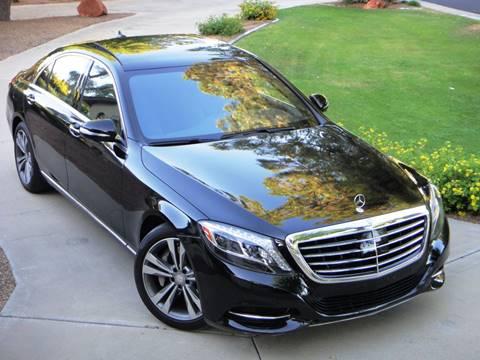 2016 Mercedes-Benz S-Class for sale at AZGT LLC in Phoenix AZ